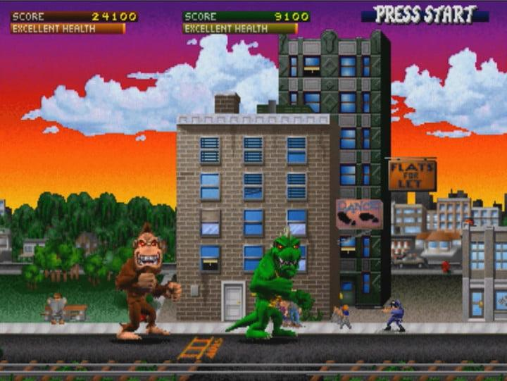 Excited For Rampage You Can Play The Arcade Game Online For Free