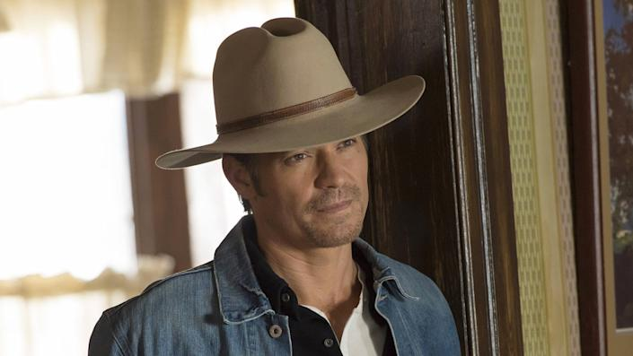"""Timothy Olyphant in """"Justified"""" on FX."""