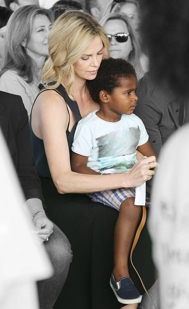 Twitter Users Shame Charlize Theron for Letting Her Son Wear an Elsa