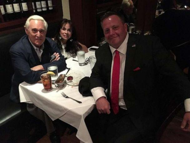 PHOTO: President Donald Trump and Connecticut Congressional Candidate Robert Hyde in a picture posted to Hyde's Twitter account on Dec 27, 2019. (HYDE for U.S. Congress/Twitter)