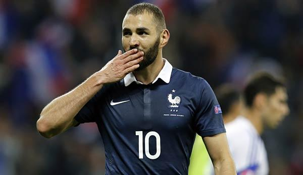 "International: Cantona: ""Ich will Benzema sehen"""