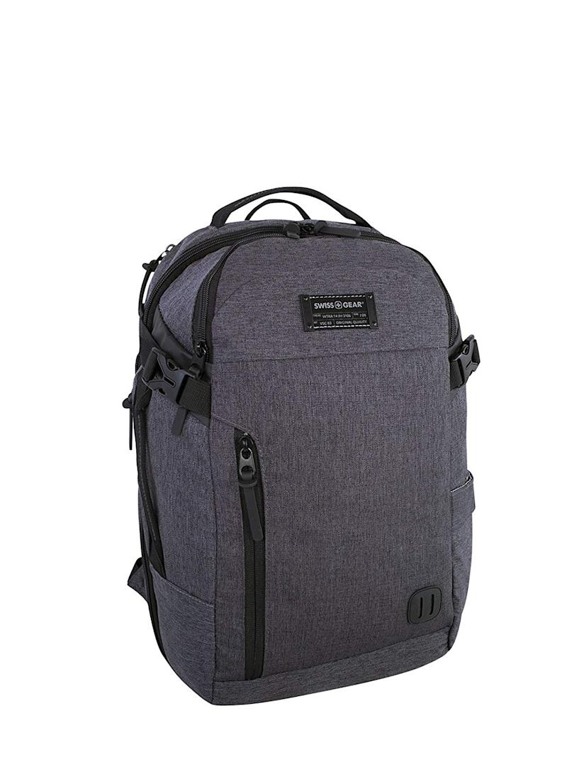 Swiss Gear Getaway Under Seat - 15.6-Inch Laptop Backpack, Grey