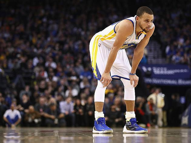 "<a class=""link rapid-noclick-resp"" href=""/nba/players/4612/"" data-ylk=""slk:Stephen Curry"">Stephen Curry</a>. (Getty Images)"