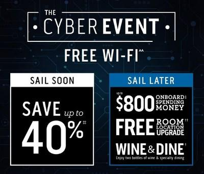 Holiday Shoppers Alert: Princess Cruises Cyber Event Includes $1 Deposits & Free Wi-Fi