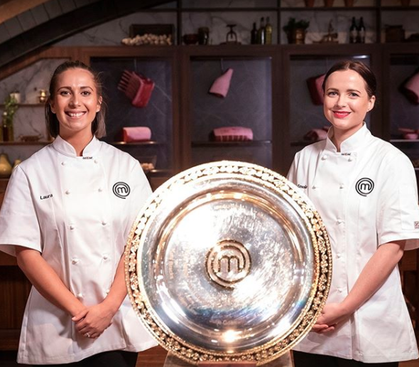 MasterChef's Laura Sharrad and Emilia Jackson