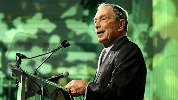 PHOTO: Michael Bloomberg speaks onstage during the Hudson River Park Annual Gala at Cipriani South Street, Oct. 17, 2019, in New York City. (Bryan Bedder/Getty Images, FILE)