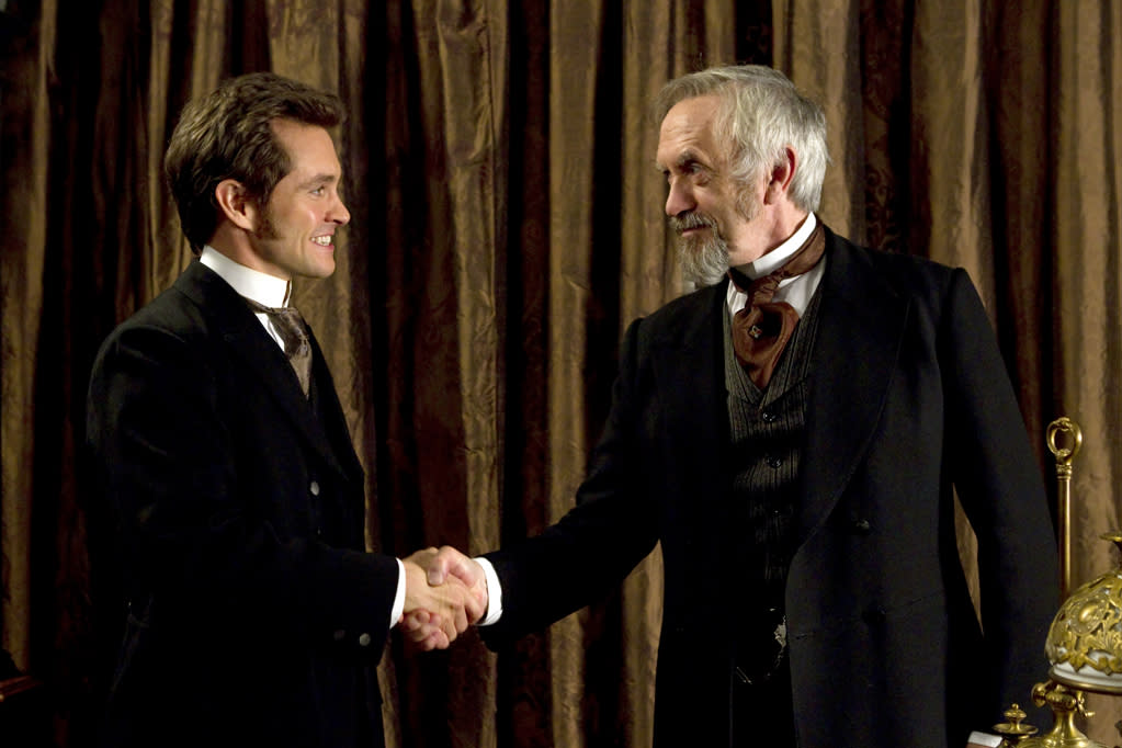 """Hugh Dancy and Jonathan Pryce in Sony Pictures Classics' """"Hysteria"""" - 2012"""