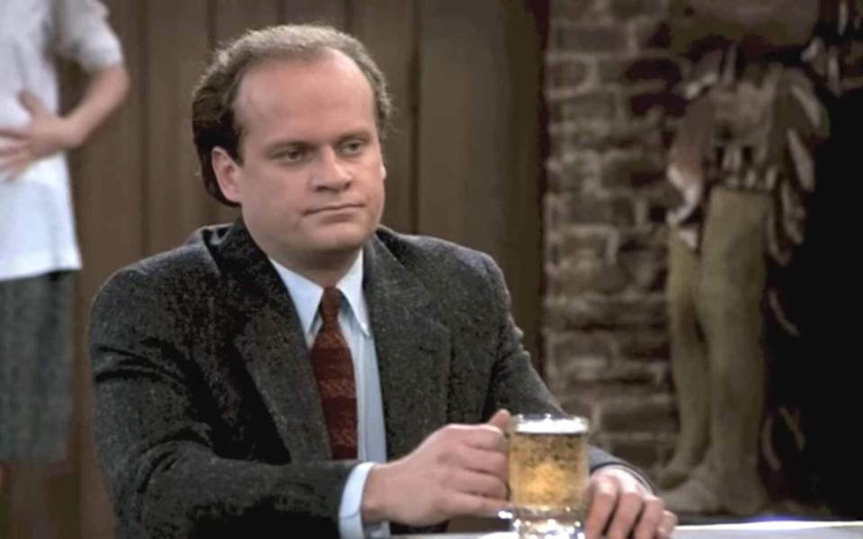 Nobody's first choice: Kelsey Grammer in an episode of Cheers - NBC
