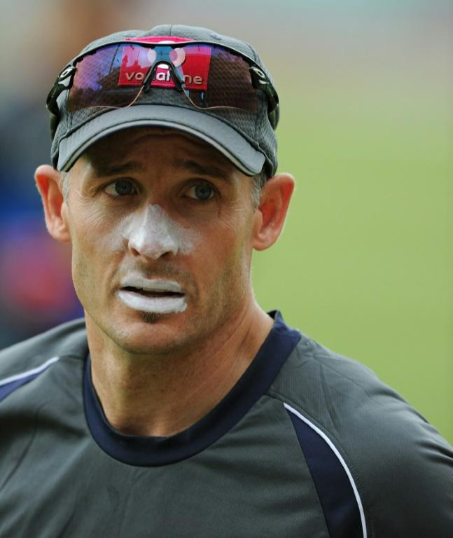 Tested positive: Former Australia star and Chennai Super Kings batting coach Michael Hussey is in isolation