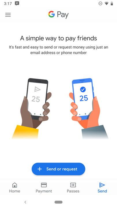 how to use google pay send 1