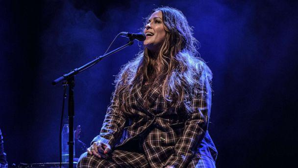PHOTO: Alanis Morissette performs at O2 Shepherd's Bush Empire, March 4, 2020, in London. (Rob Ball/WireImage/Getty Images)