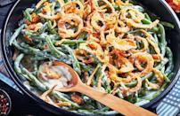 """<p>Making some Thanksgiving dishes before the big day itself can help to alleviate a lot of stress from the holiday. A surprising number of favorite foods, including green bean casserole, apple and pumpkin pies, cranberry sauce and rolls are among the <a href=""""https://www.thedailymeal.com/holidays/thanksgiving-dishes-you-can-make-ahead-and-freeze?referrer=yahoo&category=beauty_food&include_utm=1&utm_medium=referral&utm_source=yahoo&utm_campaign=feed"""" rel=""""nofollow noopener"""" target=""""_blank"""" data-ylk=""""slk:Thanksgiving dishes you can make ahead of time"""" class=""""link rapid-noclick-resp"""">Thanksgiving dishes you can make ahead of time</a>.</p>"""