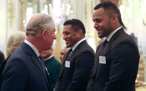 "The Queen has joked with two of England's rugby stars about the fitness levels of the UK's players as she celebrated the achievements of the Commonwealth. Brothers Billy and Mako Vunipola, who have Tongan heritage but were brought up in the UK, laughed when they said the Queen questioned the widely held view that today's rugby sportsmen were tougher and fitter. The monarch was hosting a Buckingham Palace reception for the Commonwealth diaspora in the UK and was joined at the event by the Prince of Wales and Duchess of Cornwall. I think she was calling us fat - which is fair enoughBilly Vunipola Prime Minister Theresa May and husband Philip made a surprise appearance as did Foreign Secretary Boris Johnson who earlier in the day had given a major speech on Brexit. Mako, who was part of the England team that beat Wales at the weekend in a Six Nations match, said: ""She was saying that apparently rugby is getting a lot tougher now, everyone's fitter but she can't see it."" His brother quipped: ""I think she was calling us fat - which is fair enough."" Queen Elizabeth II greets Prime Minister Theresa May  Credit: Jonathan Brady/PA The Prince of Wales meets rugby players Mako (2nd right) and Billy Vunipola Credit: Jonathan Brady/PA The event heralded the start of a series of major Commonwealth events this year culminating in a heads of government meeting for global leaders in London this April. Billy, who has missed out on Six Nations rugby due to a broken forearm, said: ""It's a massive honour that we are here and a privilege, something we will probably brag to our mum about."" The rugby-playing brothers towered over the Queen who spent almost two hours chatting to those invited to the palace reception. Among the guests was celebrity chef Monica Galetti from New Zealand, Sheku Kanneh-Mason the 2016 BBC Young Musician of the Year, and Commonwealth Secretary-General Baroness Scotland. Foreign Secretary Boris Johnson at a reception to celebrate the Commonwealth Diaspora community Credit: Jonathan Brady/PA The heir to the throne's appearanceat the event came a day after the BBC claimed officials have been discussing who might succeed the Queen as head of the Commonwealth. But the Commonwealth Secretariat has denied that a high level group of officials met in London to consider who might follow the monarch. While many Commonwealth figures presume there will be no realistic alternative to Charles when he becomes king, there has in the past been talk of electing a ceremonial leader to improve the organisation's democratic credentials. The institution's 53 member states represent 2.4 billion of the world's population ranging from Canada and Australia to Jamaica, Malaysia and Tonga. Prime Minister Theresa May, with her husband Philip (right), at a reception to celebrate the Commonwealth Diaspora community Credit: Jonathan Brady/PA During his tour of south-east Asia and India last autumn Charles spoke about the importance of the Commonwealth and the potential of the family of nations to make a difference to the major challenges facing the world. The heir to the throne is likely to use the Commonwealth Heads of Government Meeting (CHOGM) in London in April as an opportunity to meet leaders and discuss common issues. Just before the event began as guests were arriving, a man punched a police officer on duty outside the place gates and was arrested. A Scotland Yard spokesman said: ""The man assaulted an officer and a second officer sustained a minor injury detaining the man. Nobody required hospital treatment."""