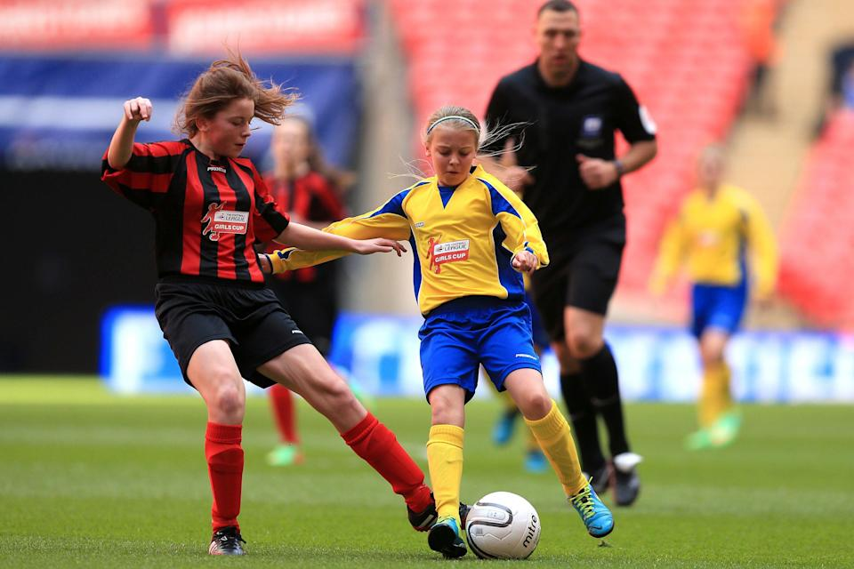 <p>Teenage girls are almost twice as likely as boys to get a concussion</p> (PA)