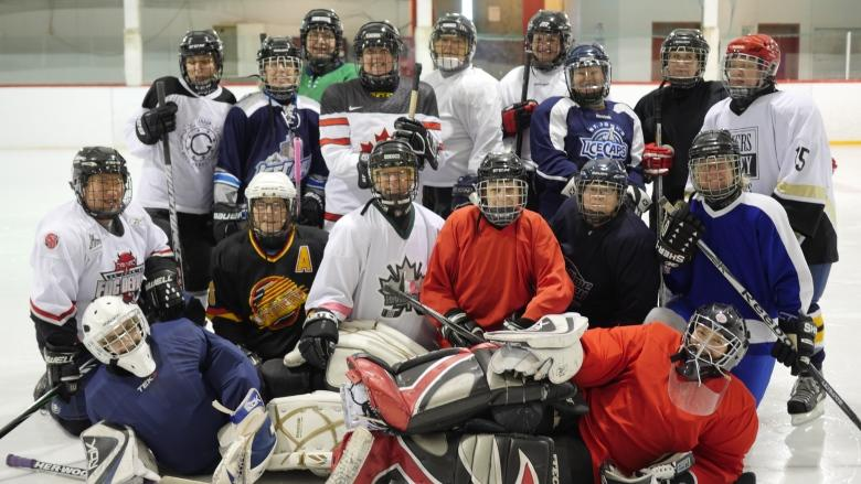 A league of their own: Meet the middle-aged women playing hockey for 1st time in St. John's