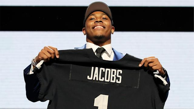 Hayden Winks lists the odds to win the 2019 Offensive Rookie of the Year and shares his five favorite bets, including two sleeper running backs. (Getty Images)