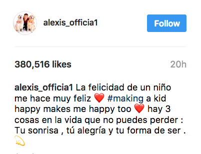 Foto: (Instagram – alexis_officia1)