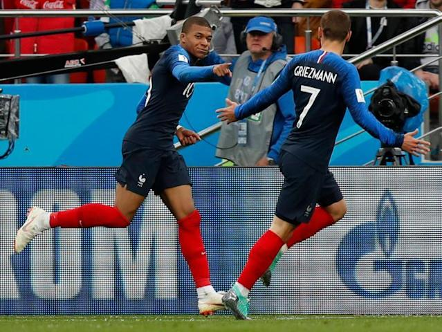 France vs Peru LIVE World Cup 2018: Kylian Mbappe scores - latest score, goals and updates from Ekaterinburg