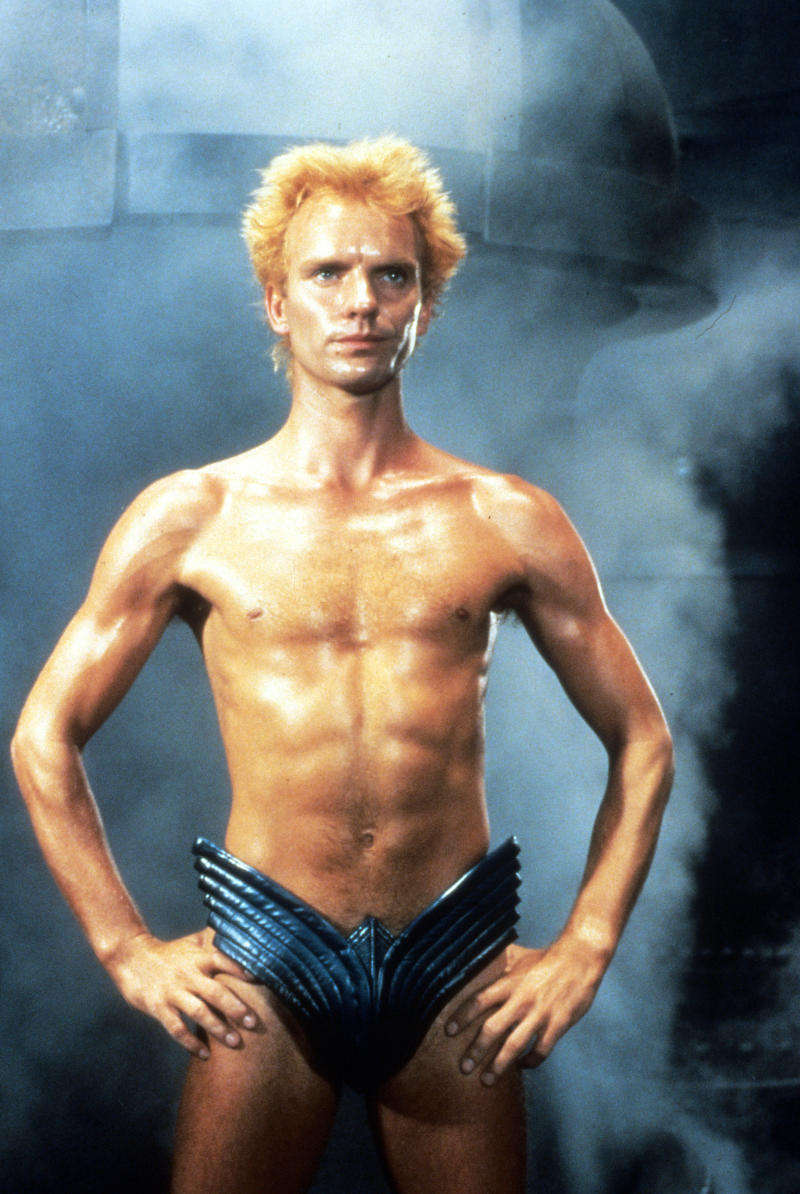 Sting in publicity portrait for the film 'Dune', 1984. (Photo by Universal/Getty Images)