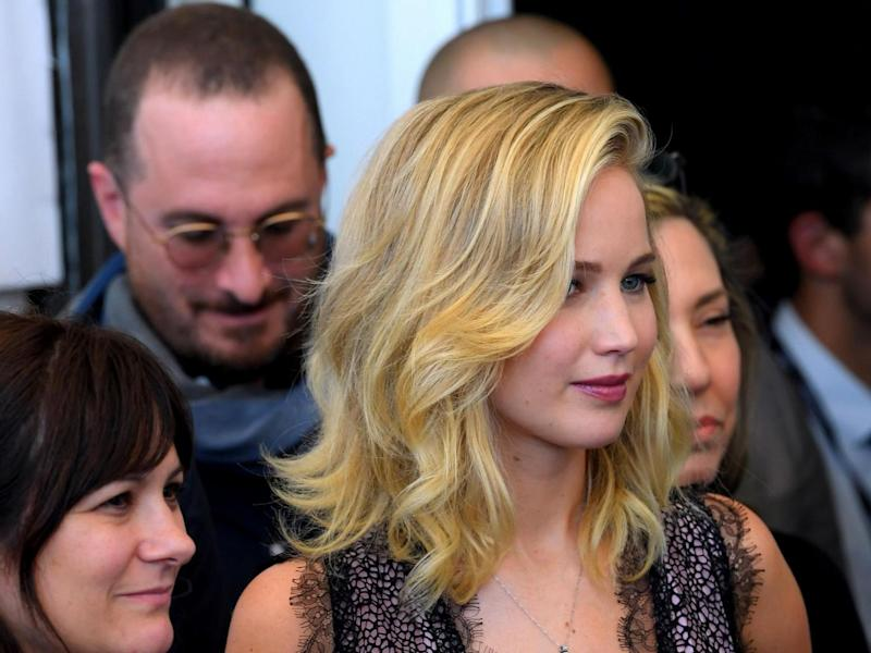 Aronofsky and Lawrence have fallen in love since making 'Mother!' (Rex)