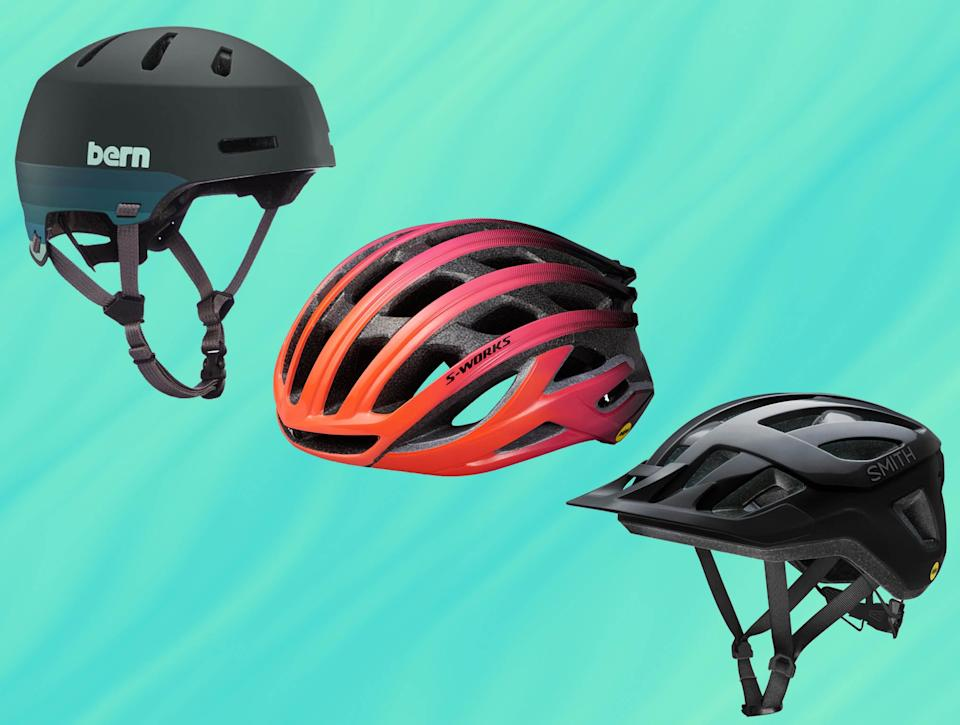 You should replace your bike helmet every five years, or sooner if it has seen a lot of use (The Independent/iStock)
