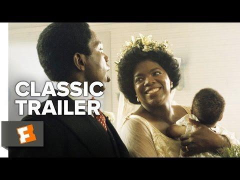 """<p>Oprah Winfrey and Whoopi Goldberg (in her movie debut!) star in the Steven Spielberg-directed movie version of the Pulitzer prize winning Alice Walker novel. </p><p><a href=""""https://www.youtube.com/watch?v=HzGrDgu08r8"""" rel=""""nofollow noopener"""" target=""""_blank"""" data-ylk=""""slk:See the original post on Youtube"""" class=""""link rapid-noclick-resp"""">See the original post on Youtube</a></p>"""