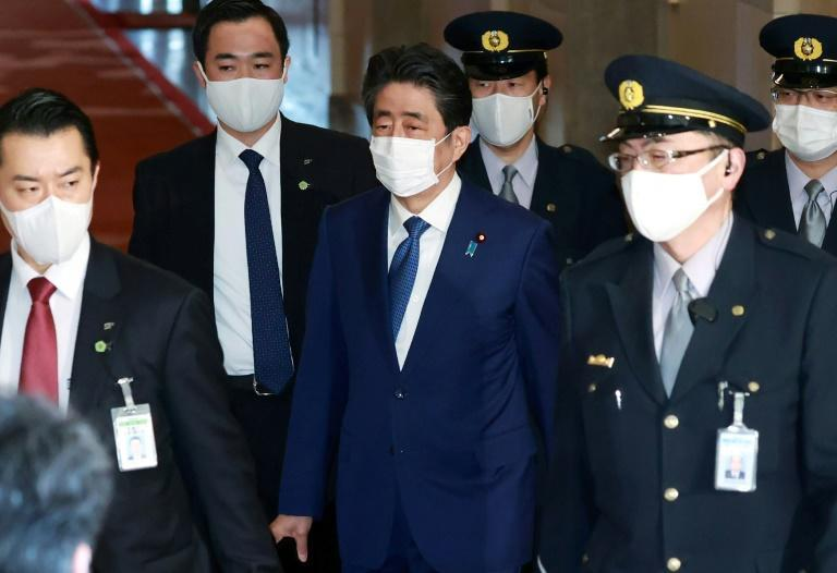 Abe will not face prosecution over the scandal, but appeared before lawmakers to apologise for making false statements