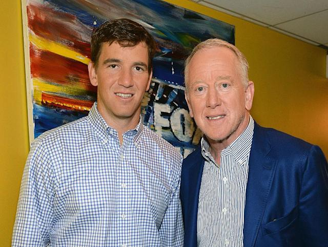 Eli and Archie Manning. (Getty)