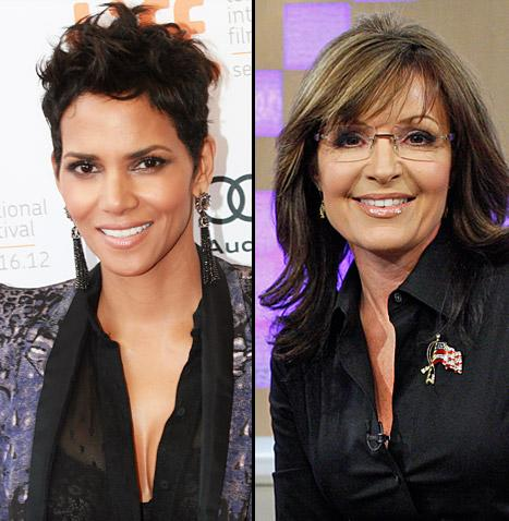 """Halle Berry: """"I'm Related to Sarah Palin"""""""