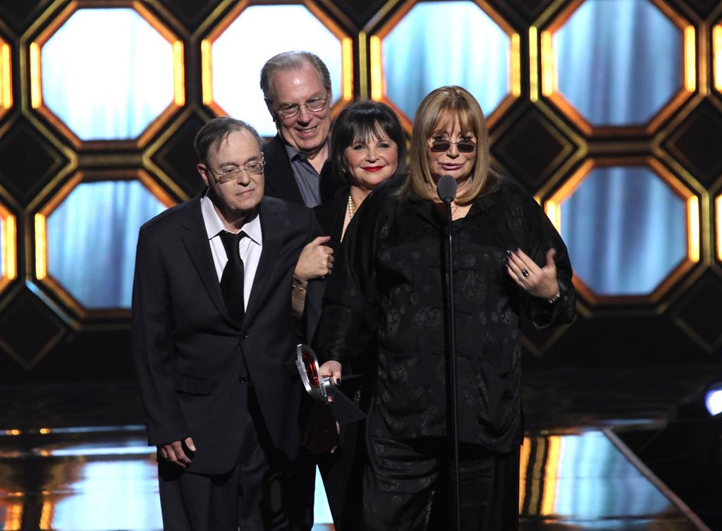 "David L. Lander, Michael McKean, Cindy Williams, and Penny Marshall of ""<a href=""http://tv.yahoo.com/laverne-and-shirley/show/31662"">Laverne & Shirley</a>"" at the 10th Annual TV Land Awards at the Lexington Avenue Armory on April 14, 2012 in New York City."