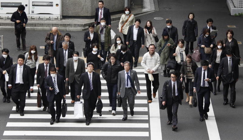 Japan jobless rate up, prices, manufacturing fall