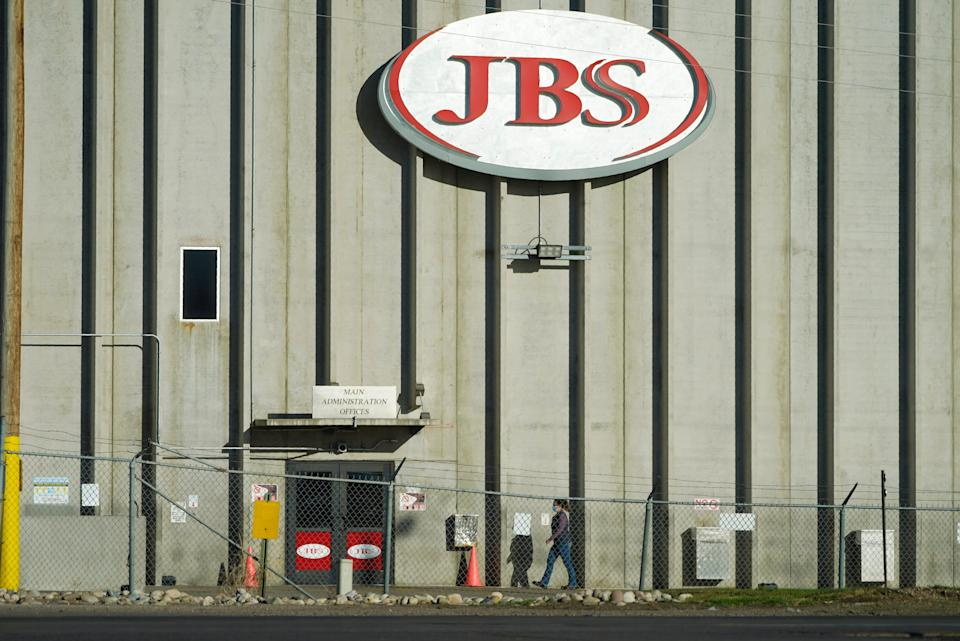 """JBS says it was the target of an """"organized cybersecurity attack."""""""