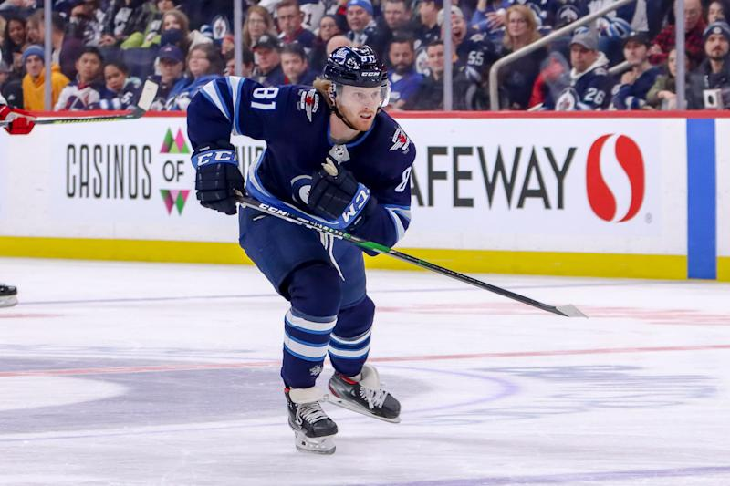 Kyle Connor #81 of the Winnipeg Jets