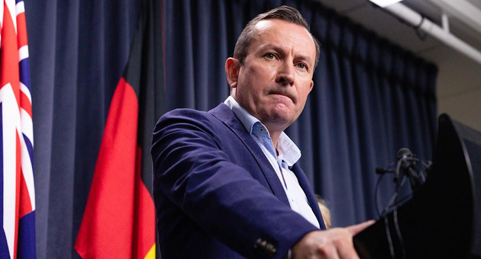 Mark McGowan has come under fire for a