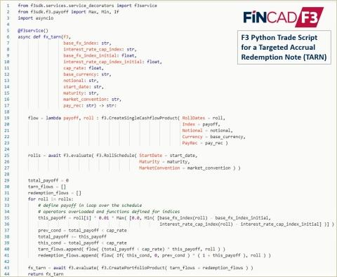 FINCAD Launches Pioneering Python Toolkit for Valuation and Risk
