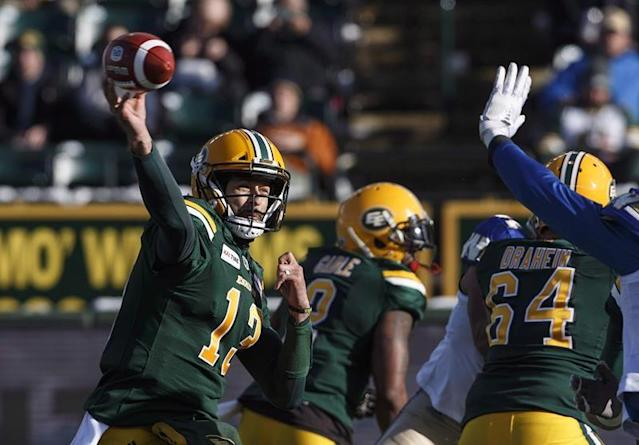 "Mike Reilly has again risen the bar among CFL quarterbacks.Shortly after CFL free agency begins at noon ET on Tuesday, a league source said the Lions will announce they've signed Reilly, the most coveted person on the open market. Reilly, who was the league's highest-paid player at over $500,000 last year, will earn in the neighbourhood of $700,000 annually over the course of his multi-year deal with B.C.The sourced added the Lions also signed veteran receiver Duron Carter, a former 1,000-yard receiver coming off the worst season of his CFL career in 2018 (18 catches, 230 yards, two TDS) split between the Saskatchewan Roughriders and Toronto Argonauts.Reilly, who began his CFL career with B.C. in 2010 before being dealt to Edmonton in January 2013, was regarded as the best player available in a deep free-agent pool that's top-heavy with quality starting quarterbacks. Also poised to become free agents at noon ET are Bo Levi Mitchell — who led the Calgary Stampeders to last year's Grey Cup title — and Trevor Harris of the East Division-champion Ottawa Redblacks.Reilly, 34, hasn't missed a game the past three years and thrown for over 5,500 yards each season. After guiding Edmonton to a Grey Cup title in 2015, Reilly was the league's outstanding player in 2017 and has thrown a combined 88 TD passes the past three campaigns.But the six-foot-three, 230-pound Reilly is a dual threat, having rushed for a combined 1,311 yards on 319 carries (4.2-yard average) and 34 TDs the past three seasons. In 2018, Edmonton was first in CFL passing (311.14 yards per game), second in net offence (399 yards), third in offensive points (26.1 per game) and fourth in rushing (103.6 yards per game).By comparison, the Lions were seventh in passing (220.6 yards per game) and offensive scoring (23.5 points) and eighth in both rushing (94.4 yards) and net offence (316.8 yards).What's more, Reilly is a native of Kennewick, Wash., and relocating to Vancouver would move him closer to family. And he's certainly familiar with the Lions, spending his first three CFL seasons in B.C. before heading to Edmonton in 2013.Earlier this month, the Eskimos gave Reilly permission to speak to other teams prior to the start of free agency.Reilly's departure is a second blow to the Eskimos. On Monday, the club announced president/CEO Len Rhodes won't be seeking another term and will be leaving the club Feb. 20.There was a flurry of action Monday as teams locked up pending free agents. Most notable were cornerback Delvin Breaux and linebacker Simoni Lawrence re-signing with the Hamilton Tiger-Cats while receiver Bryan Burnham and Canadian offensive lineman Hunter Steward remained with B.C.Only Hamilton (Jeremiah Masoli) and Winnipeg Blue Bombers (Matt Nichols) head into free agency with established starters under contract. That leaves no shortage of potential suitors for both Mitchell and Harris with Reilly now off the market.Mitchell, 28, has led Calgary to four Grey Cup appearances (winning two) and captured the CFL's outstanding player award twice (2016, '18) since becoming the club's starter in 2014 while amassing a 69-15-2 record. The native of Katy, Texas, worked out for seven NFL teams this winter but hasn't signed a contract and the prevailing talk is if Mitchell decides to remain in Canada he'll consider all offers.On Monday, Calgary president/GM John Hufnagel said he's optimistic about re-signing Mitchell. If Hufnagel does, though, the question becomes at what cost. The Stampeders' list of pending free agents includes stalwart defensive linemen Micah Johnson and Ja'Gared Davis, young receiver DaVaris Daniels and offensive lineman Spencer Wilson.""I've given a lot of players what I think are fair offers,"" Hufnagel told reporters in Calgary on Monday. ""Sometimes I've thought I've had a deal and the player has gone AWOL.""It's been a very confusing, stressful type of couple weeks. You just have to deal with it. That's the way the game is now.""Harris is coming off his best CFL season. The 32-year-old established career highs in pass attempts (615), completions (431) and yards (5,116) while sporting an impressive 70-per-cent completion percentage.Harris threw a CFL-record six TD passes in Ottawa's 46-27 East Division final win over Hamilton. But he and the Redblacks fell short in the Grey Cup 27-16 to Calgary.Teams missing out on Reilly, Mitchell or Harris would be left to consider a second tier of available free-agent quarterbacks. That group would include Zach Collaros (Saskatchewan), Travis Lulay and Jonathon Jennings (both B.C. Lions). Kevin Glenn, 39, is a longtime CFL starter who didn't throw a pass last year backing up Reilly while Brandon Bridge, 26, of Mississauga, Ont., started some games the past two seasons with the Riders.But there's more quality available than just quarterbacks. Derel Walker (28, two-time CFL all-star coming off knee injury) and Greg Ellingson (four 1,000-yard seasons, three straight with Ottawa) top the list of eligible receivers while the defensive lineman pool includes Willie Jefferson (28, 10 sacks last year with Saskatchewan), Shawn Lemon (30, 11 sacks last year with B.C.) and Odell Willis (34, 11 sacks with Edmonton).Also expected to garner much attention are linebacker Larry Dean (29, 96 tackles, East Division's top defensive player last year with Hamilton) and offensive linemen SirVincent Rogers (32, right tackle in Ottawa) and Sukh Chungh (26, missed just three starts in four years with Winnipeg).Dan Ralph, The Canadian Press"