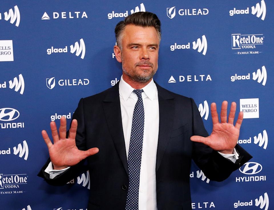 Actor Josh Duhamel arrives for the GLAAD Media Awards in Los Angeles, California March 28, 2019. REUTERS/Mario Anzuoni