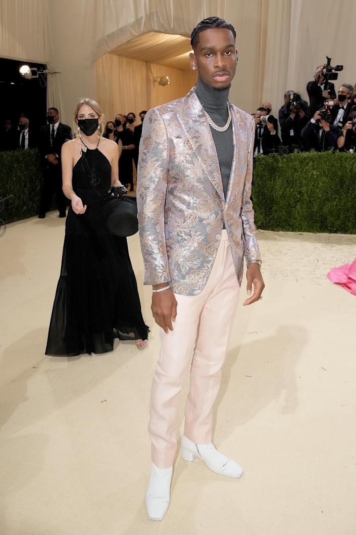 """<h1 class=""""title"""">Shai Gilgeous-Alexander in Tom Ford</h1><cite class=""""credit"""">Photo: Getty Images</cite>"""