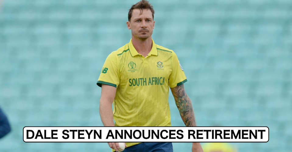 Just IN: Dale Steyn Announces Retirement From All Forms Of The Game