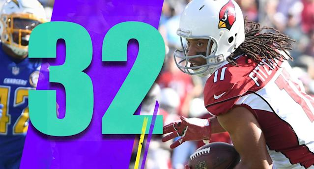 <p>It's hard to take a 10-0 lead and lose 45-10. The bright spot, of course, was Larry Fitzgerald. He scored his fifth touchdown in the Cardinals' last five games. (Larry Fitzgerald) </p>