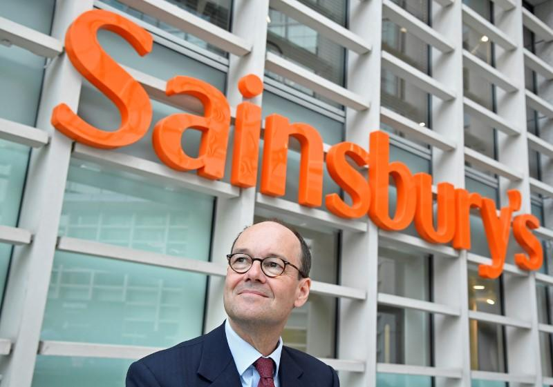 FILE PHOTO: Coupe, CEO of Sainsbury's, poses for a portrait at the company headquarters in London