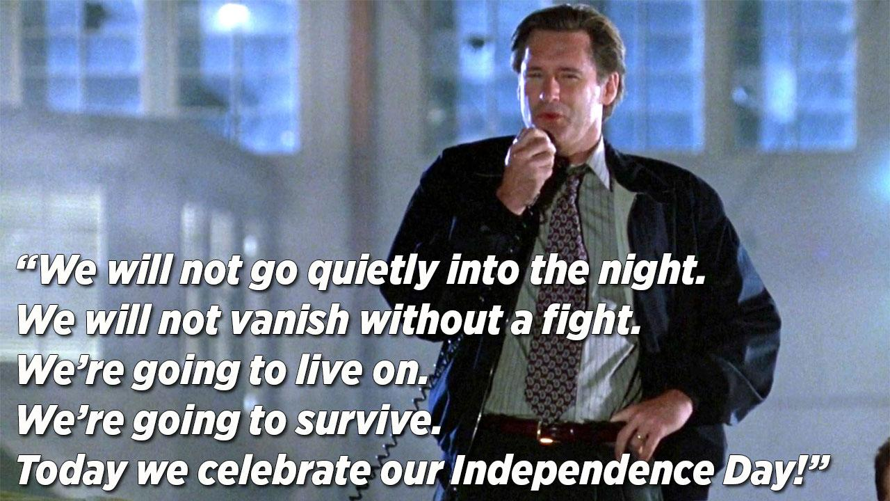 Bill Pullman: My Iconic Speech Saved Independence Day From A