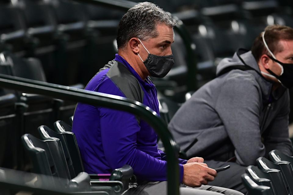 Jeff Bridich has been the Rockies GM since Oct. 2014.