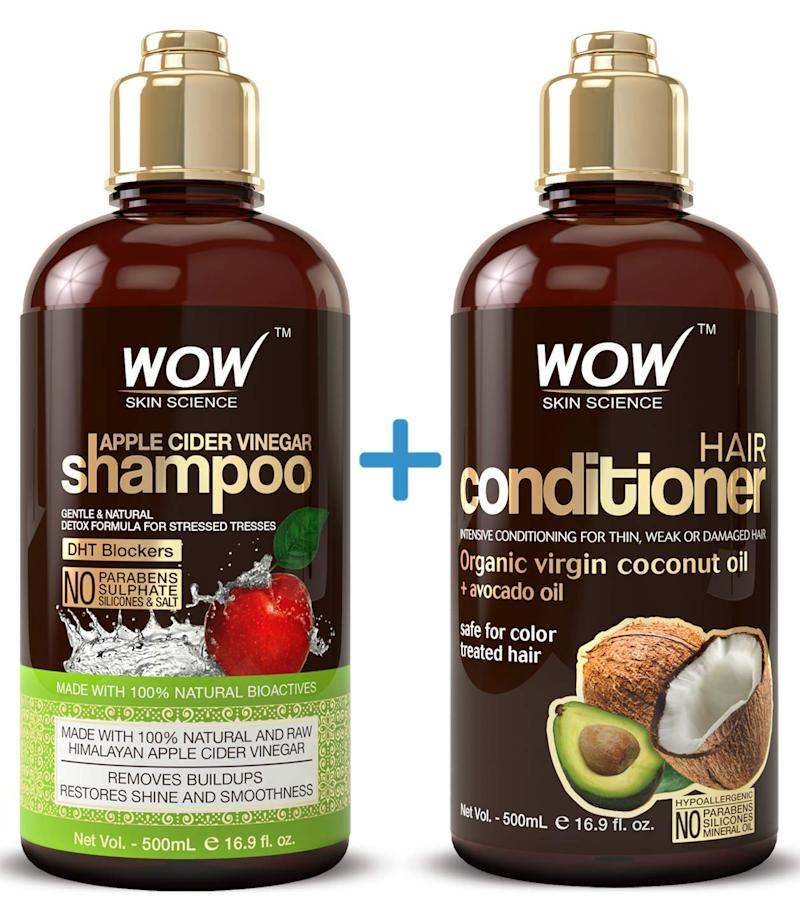 This beloved WOW shampoo and conditioner set is on sale for Cyber Monday. (Photo: Amazon)
