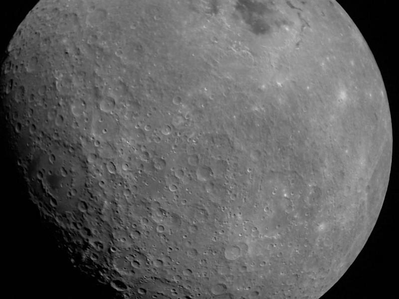 First photo of the moon from Chandrayaan 2. Image: ISRO