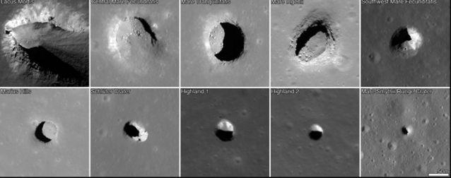 2 / 2 Scientists find huge cave on the moon which 'could house a lunar colony' Various space agencies eyeing up moon missions in the not-too-distant future. Source: Supplied