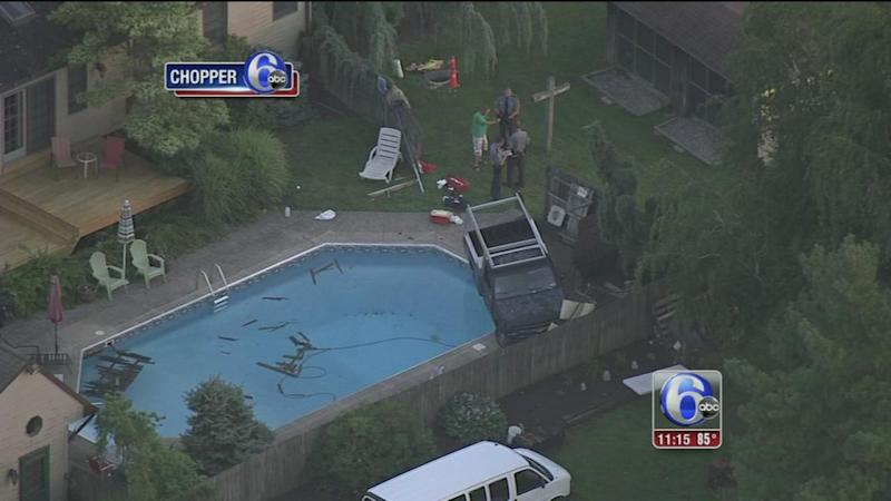 5 Year Old Hospitalized After Car Crashes Into Montgomery County Pool