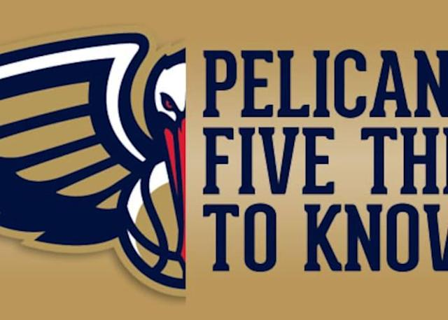 Five things to know about the Pelicans on Oct. 21, 2019