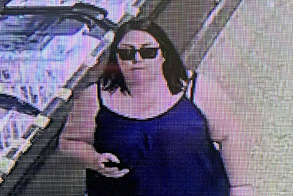 Police want to identify the woman pictured (Picture: SWNS)
