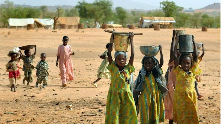 About 300,00 people died and two million were displaced during the conflict in Darfur, the UN says